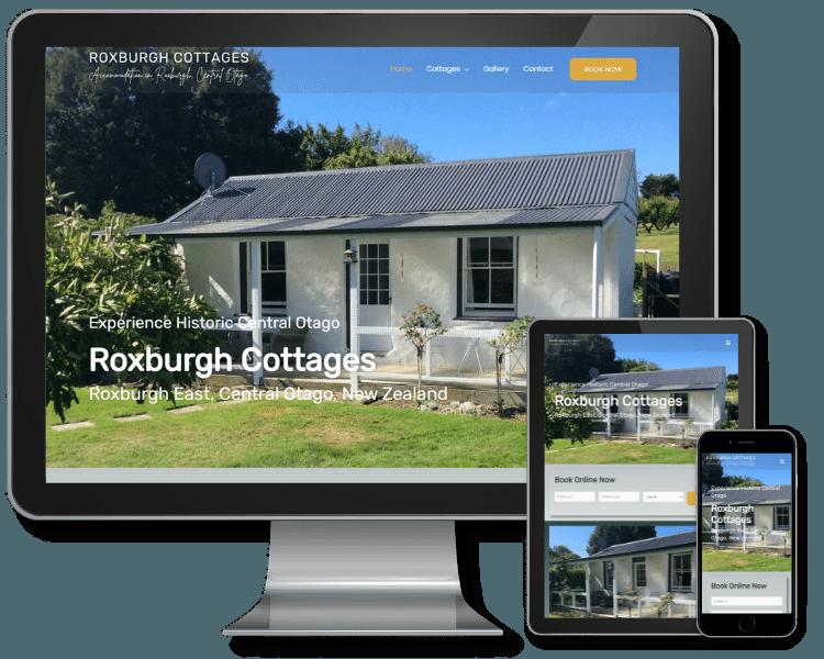 New Website Build - Roxburgh Cottages